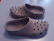 Crocs Clogs Unisex Tan Mens 10 Womens 12