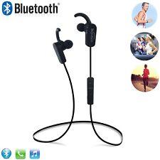 Black Sports light Bluetooth Headphones headset for All CellPhone Laptop Tablet