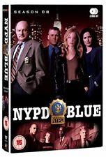 NYPD Blue Season 8 Digital Versatile Disc DVD Region 2 Shipp