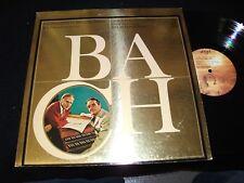 BACH°HARPSICHORD CONCERTOS<>G. MALCOLM<>LP Vinyl~ US Pressing<>ANGEL S-37010