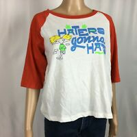 New Nickelodeon Love Tribe Womens Shirt L NWT