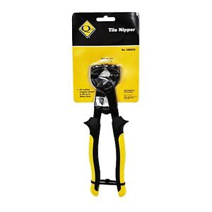QEP TRADESMAN TILE NIPPERS 200mm, cuts up to 25mm thick tiles *USA Brand