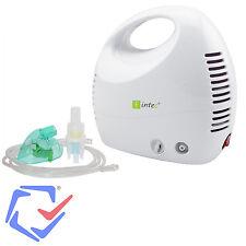 Inhaliergerät Inhalator Aerosol Therapie Vernebler Inhalation Kompressor Intec