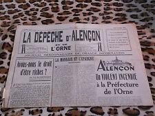 Journal - La Dépêche d'Alençon et de l'Orne n° 27, 28/04/1949