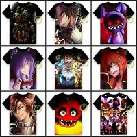 Anime Five Nights at Freddy's Unisex T-shirt HD Printing Cosplay Tee#85-S-24