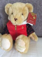 Harrods Christmas 'Bertie' Bear Foot Dated Teddy 2017 With Tags