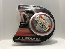 Brand New Sealed Panasonic SL-SX330 Personal CD Player Red Wrap It Headphones