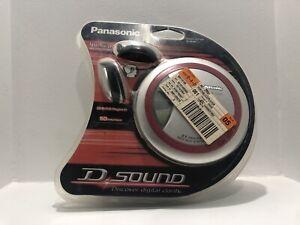 Brand New Sealed Panasonic SL-SX330 Personal CD Player Red Wrap It Headphones