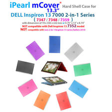 "NEW iPearl mCover Hard Case for 13"" Dell Inspiron 13 7347 7348 7359 2in1 laptop"