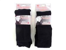 Damenstrumpfhose Antonio Schwarz L/ XL 42 - 44 2 Paar Super Comfort Baumwolle