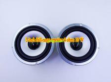 "2pcs 3"" inch 4Ohm 4Ω 10W Full range speakers Loudspeaker Laptop Bluetooth audio"