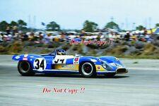 Johnny Servoz-Gavin & Herbert Muller MATRA MS630/650 Le Mans 1969 Photographie 2