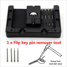 Car Flip Key Vice Fixing Pin Remover Tool