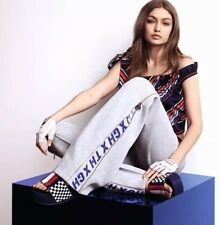 Tommy Hilfiger Gigi Hadid Zip Flare Tracksuit Bottoms Size S RRP £125