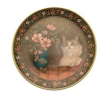 Cats On Minton Tiles Rosalie With Wild Roses and Minton Tiles GB273