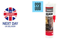 High Temperature Silicone Sealant Heat Resistant to 1500°C, Flues, Stoves, Glass