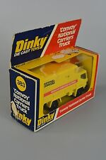 R&L Diecast: Vintage Dinky 383 Convoy National Carrier Truck, yellow