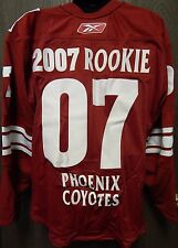 RARE NHL Reebok Authentic Phoenix Coyotes 2007 Rookie Hockey Jersey Size 54