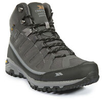 Trespass  Tennant Mens Vibram Walking Boots Trekking Waterproof Hiking Shoes