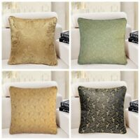 """16x16"""" Vintage Luxury Jacquard Throw PILLOW COVER Sofa Couch Bed Cushion Case US"""