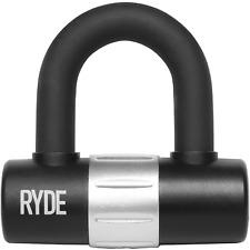 RYDE MOTORCYCLE SHACKLE U/D DISC LOCK MOTORBIKE/SCOOTER/CYCLE MINI HD PADLOCK
