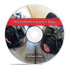 The Complete Library of Dogs, Health, Breeding, Hunt Train, 110 Books CD DVD H46