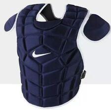 "Nike 17"" Vapor Catcher's Chest Protector Navy Blue /White PBP428-453 MSRP $200"