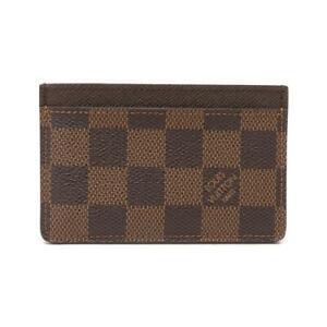 Authentic LOUIS VUITTON Damier Card Holder N61722  #260-003-434-1056