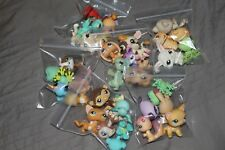 1 cat/dog + 4 other random pets lps blind bag lot 5 lps RARE AUTHENTIC ORIGINAL