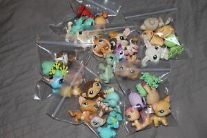 1 cat/dog + 4 other random pets lps blind bag lot 5 lps RARE AUTHENTIC ORIGINAL