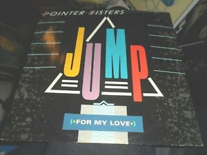 POINTER SISTERS-JUMP FOR MY LOVE 12'' VINYL 1984