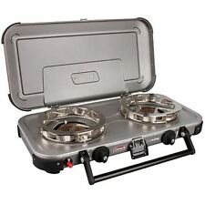 NEW COLEMAN HYPER FLAME FYREKNIGHT CAMPING STOVE ANTI SKID FEET HIKING COOKING