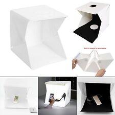 """12"""" Photography Lighting Tent Kit Backdrop Cube Mini Box Light Room Photo Studio"""