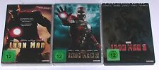 DVD: Sammlung IRON MAN 1-3 (1 + 2 + 3) / Komplett Deutsch
