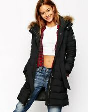 NWT Abercrombie & Fitch By Hollister Women's Coat Parka Long Puffer