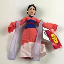 Disneys Mulan Traditional Mulan Mini Beanie Baby Plush Disney Store Bean Bag NWT