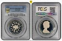 1982 AUSTRALIA 50 CENTS PCGS PR69DCAM PROOF ONLY 3 COINS GRADED HIGHER
