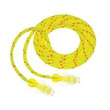 3M 98017 P3001 Tri-Flange Cloth Corded Earplugs, 3-Pack