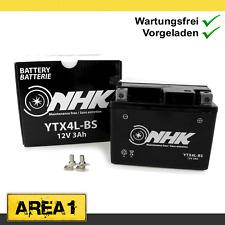 Wartungsfreie Batterie 3Ah Peugeot Rapido 50 ST, SC 50 Metropolis (YTX4L-BS)