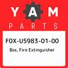 F0X-U5983-01-00 Yamaha Box, fire extinguisher F0XU59830100, New Genuine OEM Part