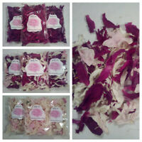Dried Peony Flower Petals,Set of 3,for Potpourri, Home Fragrance,Confetti,Favors
