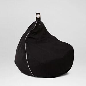 Chillizone Indoor/Outdoor Bean Bag Black/White