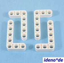 LEGO Technic Technology 4 PZ. liftarm 3 x 5 BIANCO 32526 9398 WHITE 4585040 NUOVO
