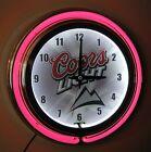 Coors Light Neon Wall Clock Brand New