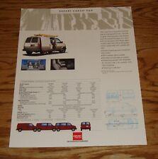 Original 1993 GMC Safari Cargo Van & Vandura Sales Sheet Brochure 93