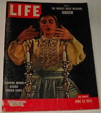 Life Magazine June 13 1955 Part V The World's Great Religions Judaism