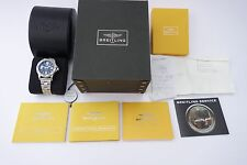 Breitling Colt 44 Armbanduhr für Herren A74387 Edelstahl Full Set 03.2013