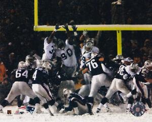 Adam Vinatieri New England Patriots 2001 AFC Divisional Game 8x10 Photo