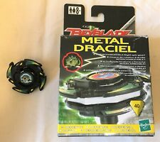 Beyblade Hasbro Metal Draciel 40 VGC With Box, Instructions, Ripcord + Launcher
