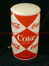 12 inch tall INFLATABLE 1960s Coca Cola Coke display can Tavern Trove